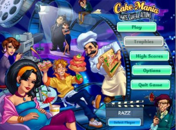 Скачать бесплатно Cake Mania 5: Lights, Camera, Action - полная версия.